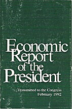 Economic Report of the President Transmitted…