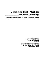 Conducting Public Meetings and Hearings by…