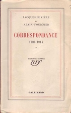 Correspondance tome 2: 1905-1914. by Jacques…
