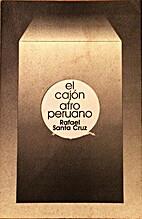 El cajón afroperuano by Rafael Santa Cruz