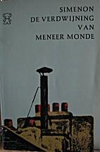Monsieur Monde Vanishes by Georges Simenon