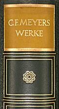 Werke Band II : Novellen by Conrad Ferdinand…