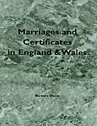 Marriages and Certificates in England and…