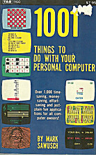 1001 Things To Do With Your Personal…