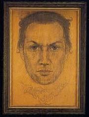 Author photo. Portrait of Kenneth Grant by Austin Osman Spare