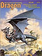 Dragon Magazine #71: (vol VII no 10, March…
