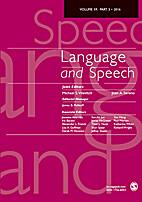 Language and Speech 42 (1999)