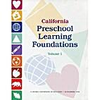 California Preschool Learning Foundations…