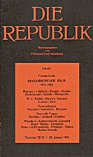 Die Republik (Nummer 72-75 / 25. Januar…
