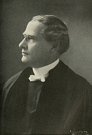 Author photo. Image from <b><i>Commemorative exercises at the one hundredth anniversary of the organization of Park Street Church, February 26-March 3, 1909</i></b> (1909) edited by Arcturus Z. Conrad
