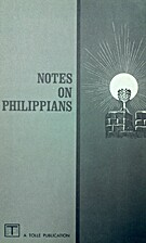 Notes on Philippians by James M. Tolle