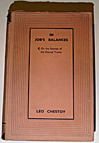 In Job's Balances: On the Sources of the…