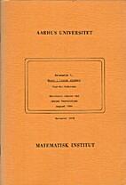 Noter i lineær algebra : Matematik 1.2 by…