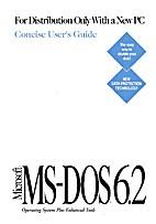 Microsoft MS-DOS 6.2 by Microsoft…