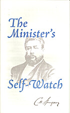 The Minister's Self-Watch by Charles H.…