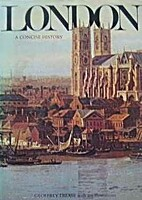 London: A Concise History by Geoffrey Trease