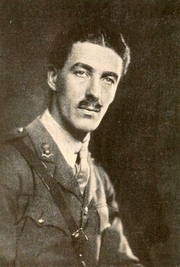 Author photo. Image from <b><i>The glory of the trenches; an interpretation</i></b> (1918) by Coningsby Dawson
