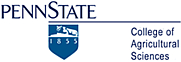 Author photo. Penn State College of Agricultural Sciences logo