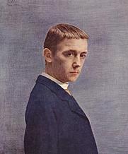 Author photo. Félix Vallotton, 1885