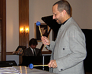 Author photo. Professor Bop, February 24, 2005