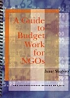 A Guide to Budget Work for NGOs by Isaac…