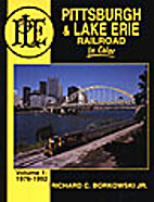 Pittsburgh & Lake Erie Railroad In Color…