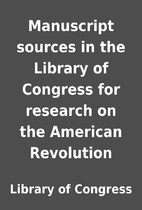 Manuscript sources in the Library of…