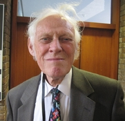 Author photo. Prof. Clifford Edmund Bosworth, a British orientalist, during a ESCAS conference at the University of Cambridge. 20 September 2011. Photo by T. Chorotegin.