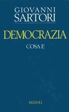 Democrazia: cosa e by Giovanni Sartori