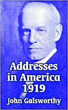 Addresses in America: 1919 by John…