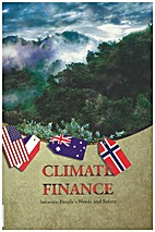 Climate finance between people's needs and…