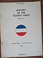 History of the Fourth Army by Jack B. (CPT)…