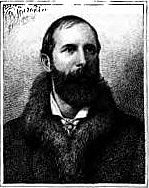 Author photo. Image from <b><i>'From Grave to Gay' : A Volume of Selections from the Complete Poems of H. Cholmondeley-Pennell</i></b> (1884)
