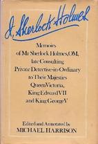 I, Sherlock Holmes: Memoirs of Mr. Sherlock…