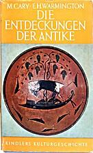 Die Entdeckungen der Antike by Max ;…