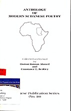 Anthology Of Modern Sudanese Poetry by Osman…