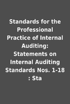 Standards for the Professional Practice of…