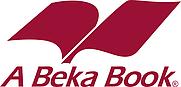 Author photo. A Beka Books logo