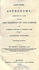 Letters on Astronomy, Addressed to A Lady:…