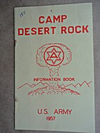 Camp Desert Rock Information Book, U.S.…