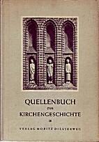 Quellenbuch zur Kirchengeschichte, Band 3.…