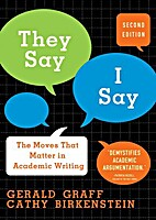 They Say/I Say: The Moves That Matter in…