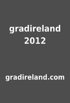 gradireland 2012 by gradireland.com