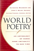 World Poetry: An Anthology of Verse from…