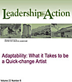 Adaptability: What it Takes to be a…