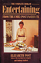 Complete Book of Entertaining by Elizabeth…