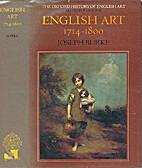 English Art, 1714-1800 (Oxford History of…