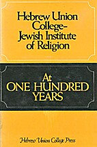 Hebrew Union College-Jewish Institute of…