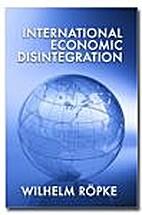 International Economic Disintegration by…