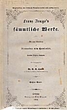 Franz Arago's sämmtliche Werke Bd. 1…